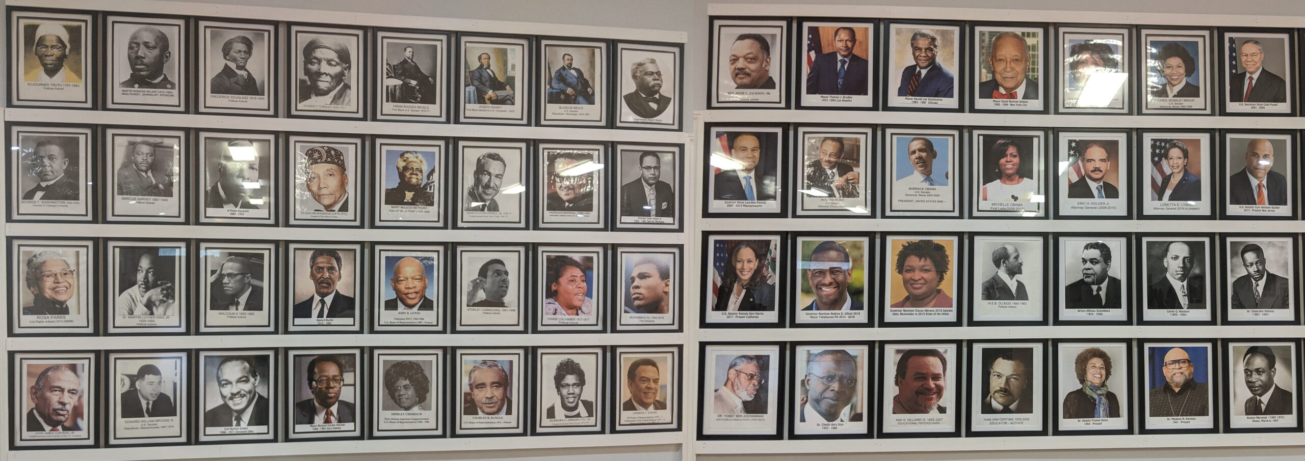 Wall of Leaders & Scholars