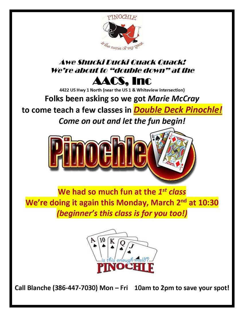 Pinochle Class